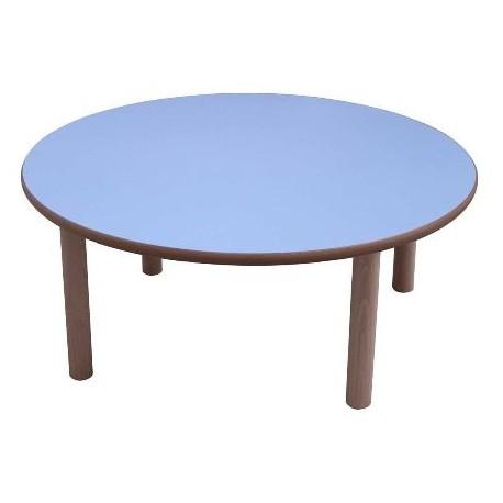 Mesa infantil madera redonda 120 cms - Mesa infantil madera ...