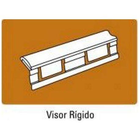 VISOR CARPETA COLGANTE CRISTAL PLASTICO PACK 25 U.