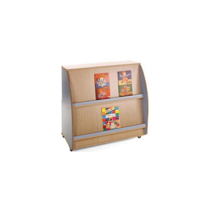 Mueble expositor de libros 90x96x57 for Muebles para libros