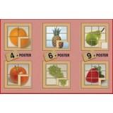6 PUZZLE FRUTAS 4-6-9