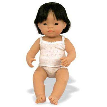 BABY NIÑO ASIATICO 40 CMS ML-31155