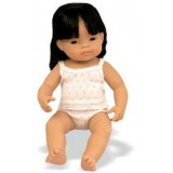 BABY NIÑA ASIATICA 40 CMS ML-31156