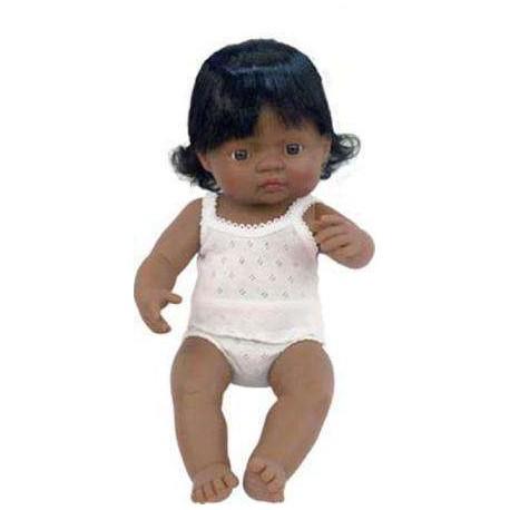 BABY NIÑA LATINOAMERICANA 40 CMS