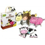 (L) PUZZLE 3D ANIMALES GRANJA MDCAPLG7240