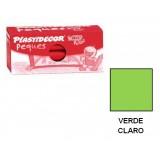 (L) CERAS PLASTIDECOR PEQUES C/12 VERDE CLARO