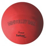 BALÓN MINIVOLEY SOFTEE SOFT ROJO