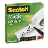 CINTA ADHESIVA INVISIBLE SCOTCH MAGIC 810 33X12 MM