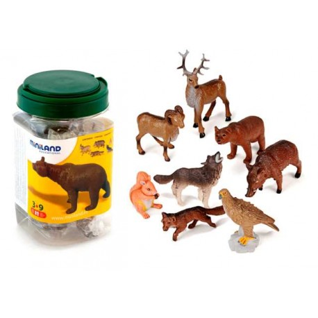 BOTE 8 ANIMALES DEL BOSQUE