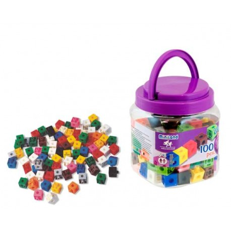 POLICUBOS ACTIVITY CUBES 2 CMS BOTE 100 UDS