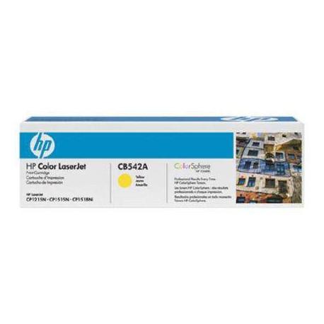 TONER ORIGINAL HP CB542A (125A) - AMARILLO