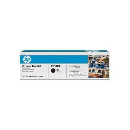 TONER ORIGINAL HP CB540A (125A) - NEGRO