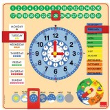 RELOJ CALENDARIO 2 INGLES