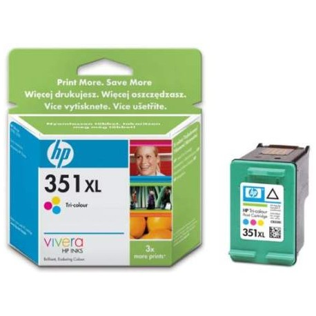 CARTUCHO ORIGINAL HP Nº 351 XL - TRICOLOR