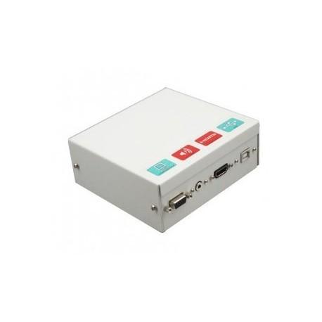 CAJA CONEXIONES METAL Y CABLES 5 M Y HDMI