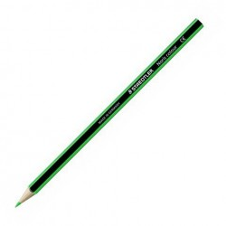 (L) LAPIZ STAEDTLER NORIS COLOUR C/12 VERDE INTENS