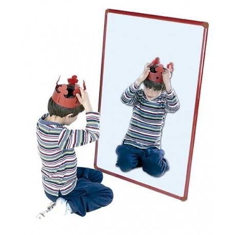 Espejo Infantil Aluminio Laqueado 120x50