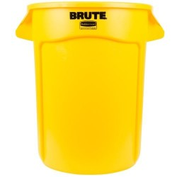 BIDON RUBBERMAID BRUTE 121 LITROS AMARILLO