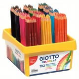 LAPIZ COLOR GIOTTO 3.0 KIT ESCOLAR 192 UDS