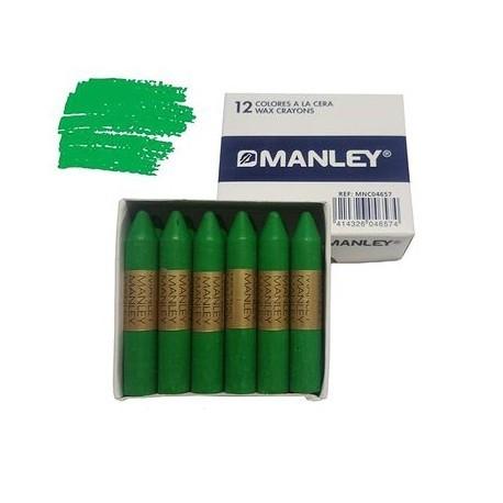 CERAS MANLEY C/12 VERDE CLARO 22
