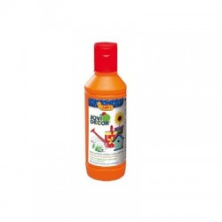 PINTURA MULTIUSO JOVIDECOR 250 ML NARANJA