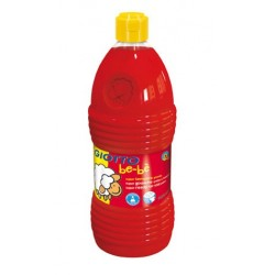 TEMPERA LIQUIDA GIOTTO BE-BE 1000 ML ROJA