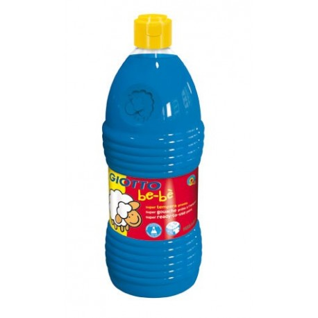 TEMPERA LIQUIDA GIOTTO BE-BE 1000 ML AZUL