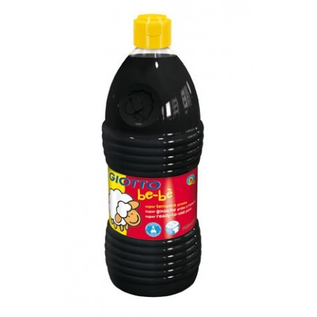 TEMPERA LIQUIDA GIOTTO BE-BE 1000 ML NEGRA