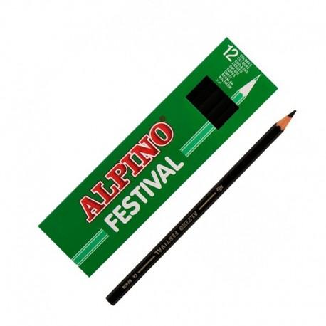 LAPIZ ALPINO FESTIVAL C/12 NEGRO