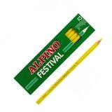 LAPIZ ALPINO FESTIVAL C/12 AMARILLO