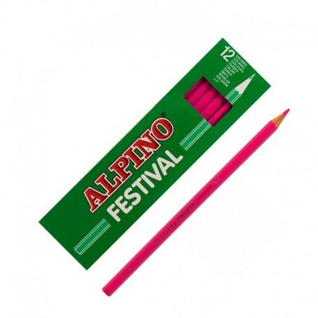 LAPIZ ALPINO FESTIVAL C/12 ROSA