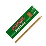 (L) LAPIZ ALPINO FESTIVAL C/12 MARRON CLARO