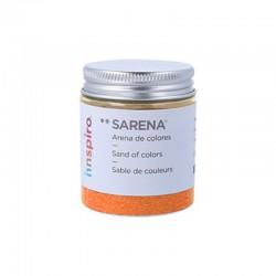 ARENILLA DE COLORES 110 GR. NARANJA