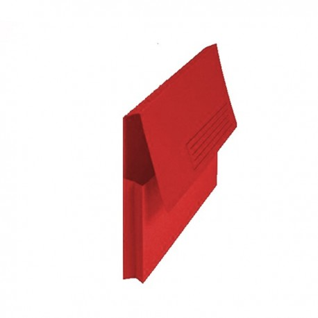 SUBCARPETA POCKET FUELLE FOLIO ROJA