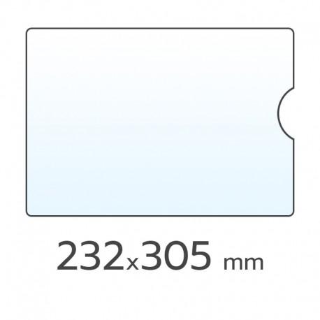 (L) FUNDA PORTACARNETS 232X305 A4
