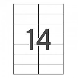 ETIQUETAS IMPRESORA APLI 1277 105X42,4