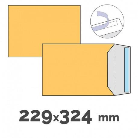BOLSA DIN C-4 CELULOSA CAÑA 229X324 CAJA 250UDS.