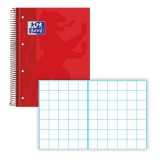 CUADERNO ENRI EUROPEAN BOOKS OXFORD ROJO