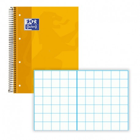 CUADERNO ENRI EUROPEAN BOOKS OXFORD AMARILLO