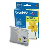 CARTUCHO ORIGINAL BROTHER LC-970 - AMARILLO