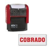(L) SELLO PRINTER 20 'COBRADO'