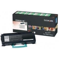 TONER ORIGINAL LEXMARK E260, E360, E460 RETORNABLE
