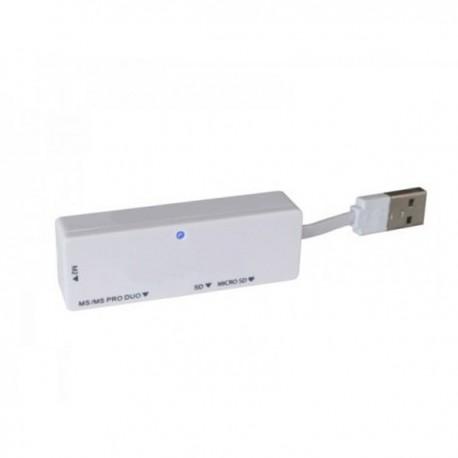 LECTOR DE TARJETAS DE MEMORIA USB 2.0