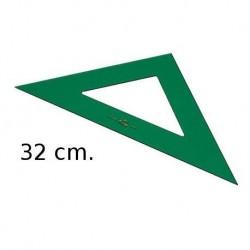 (L) ESCUADRA FABER CASTELL 32 CM
