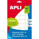 (L) ETIQUETA APLI-10 19X40 1641