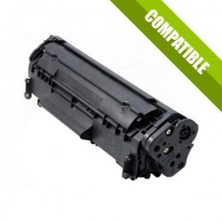 TONER COMPATIBLE HP Q2612A (12A) - NEGRO