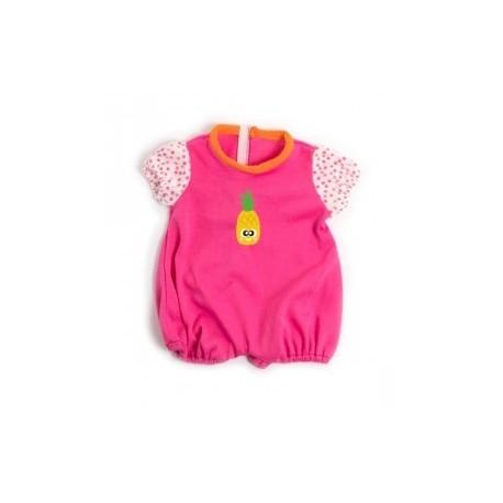 pijama calor rosa para muÑecos de 38 40 cm