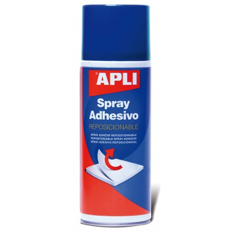 ADHESIVO EN SPRAY REMOVIBLE APLI BOTE 400 ML