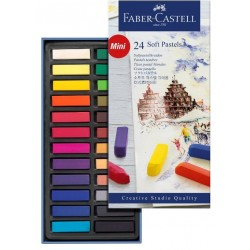 PASTEL BLANDO FABER CASTELL CREATIVE STUDIO C/24
