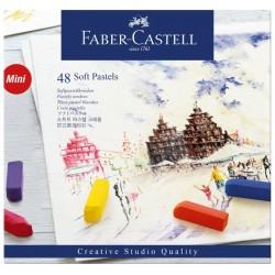 PASTEL BLANDO FABER CASTELL CREATIVE STUDIO C/48