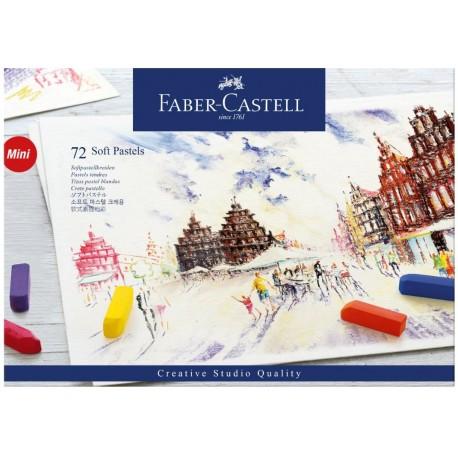 PASTEL BLANDO FABER CASTELL CREATIVE STUDIO C/72